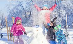Ура, зима! 5 идей для веселой прогулки с ребенком