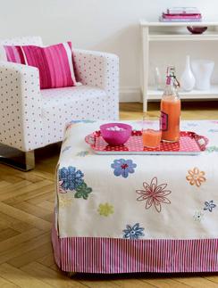обивка, чехлы для мягкой мебели, перетяжка мебели, текстиль, декор интерьера, советы декоратора, журнал Домой, диван, пуф