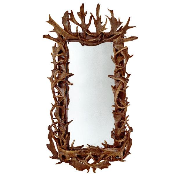 Зеркало в раме из рогов, Ralph Lauren, шоу-рум Park Avenue.