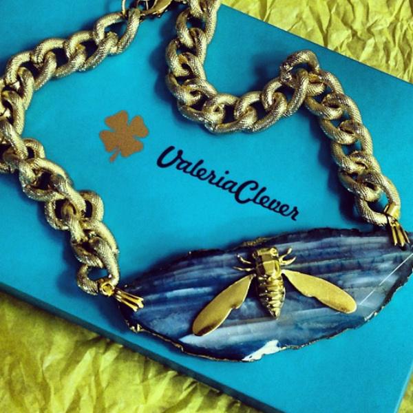 Ожерелье муха от Valeria Clever