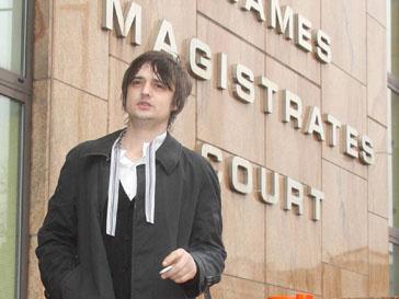 Пит Доэрти (Pete Doherty) отрицает свою вину