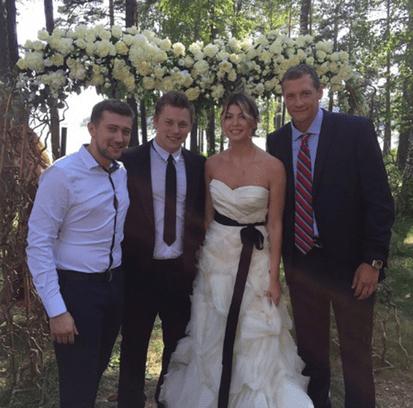 Свадьба Владимира Тарасенко