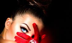 Гламурный стиль в образе девушки