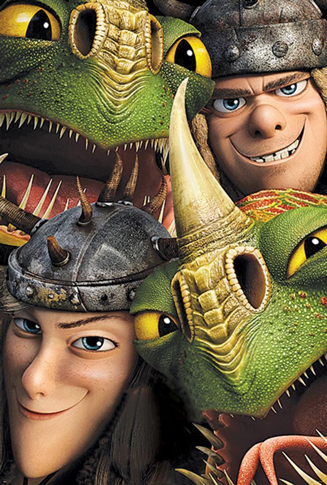 «Как приучить дракона 2»
