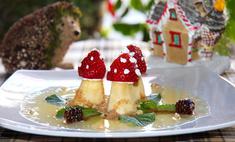 Десерт «Мухоморы»
