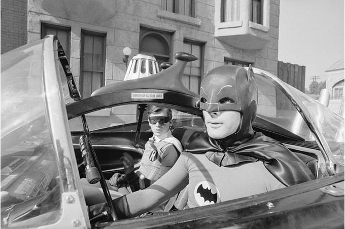 Кадр из фильма «Бетмен», 1966