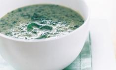 Суп из шпината с кокосовым молоком