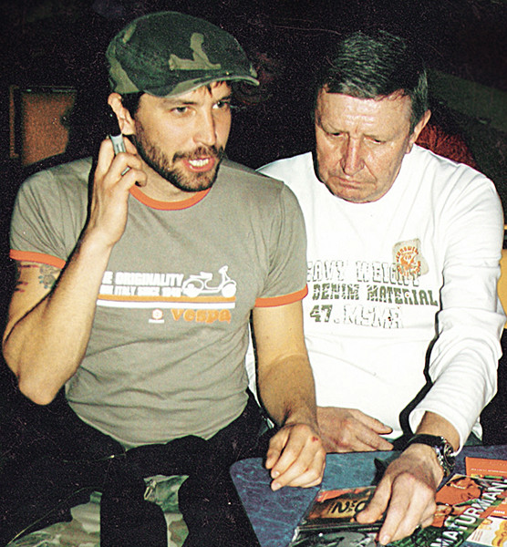 Владимир Кристовский с отцом