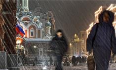 Москва полностью покрылась коркой льда