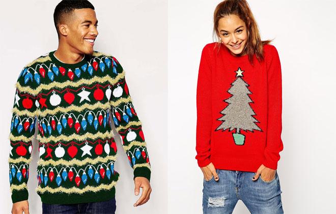 Новогодние свитеры