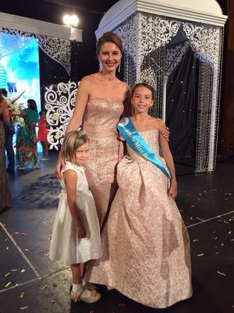 Сабина Фаттахова из Казани стала «Little Miss Europe-2015»