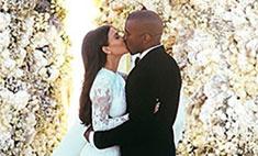 Кардашьян и Уэст устроили второй медовый месяц