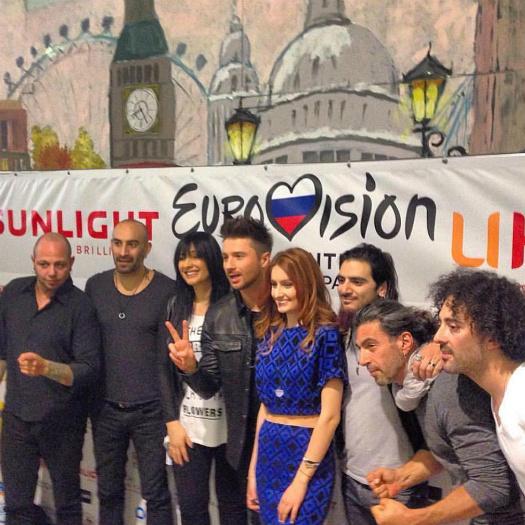 Соперницей Сергея Лазарева на Евровидении станет уроженка России Лидия Исак