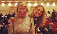 Мама Водяновой впервые прилетела в Америку ради дочери