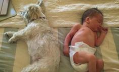 Милота дня: как спит новорожденная дочь Миллы Йовович