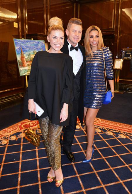 Митя Фомин с коллегами, фото
