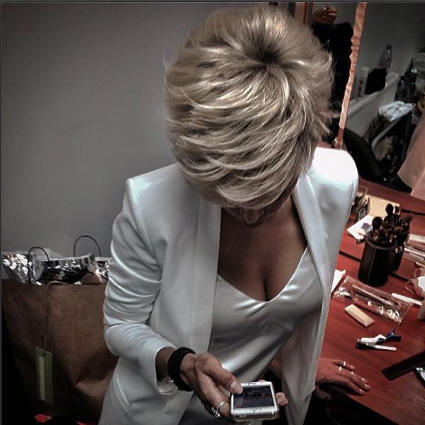Вера Брежнева остригла волосы