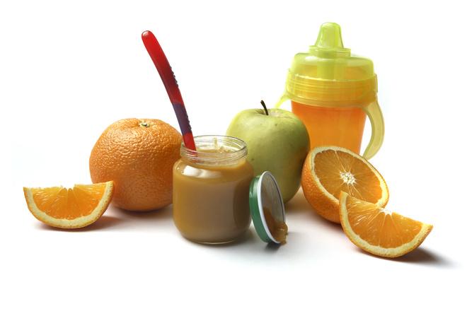 пюре для детей фруктовое