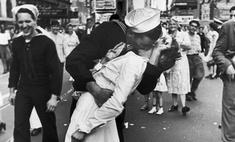 фотографии моряк целует медсестру таймс-сквер