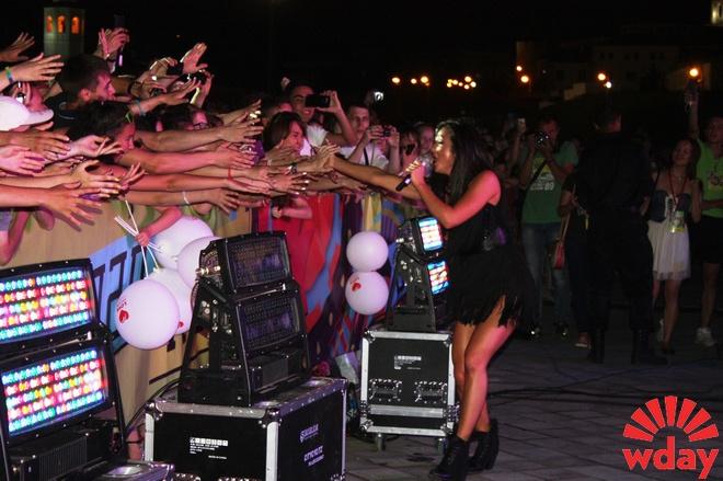 Певица Нюша посол Чемпионата мира по водным видам спорта 2015