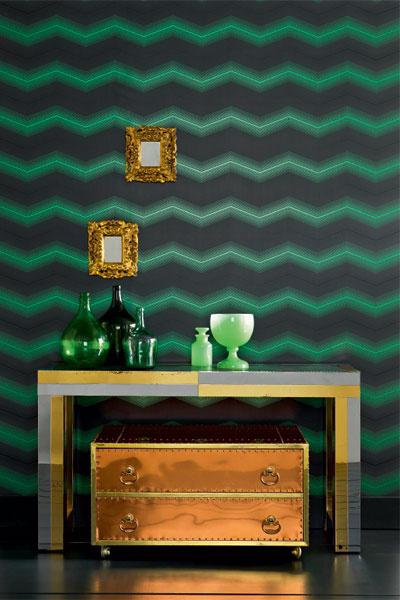 Обои Zanetti, коллекция Teatro Wallpapers, Osborne & Little, салоны Lege Alto.