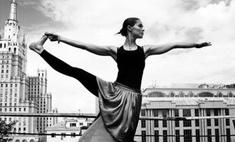Худеем к лету: йога на крыше
