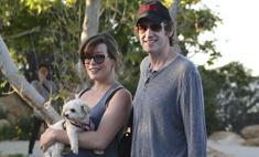 Милота дня: беременная Милла Йовович с собачкой