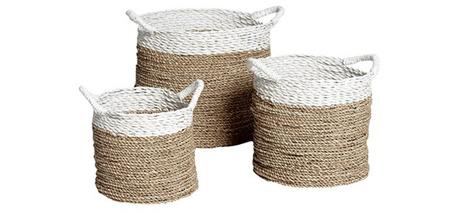 Плетеные корзины, магазин Naf-Naf House/галерея интерьеров «Твинстор»