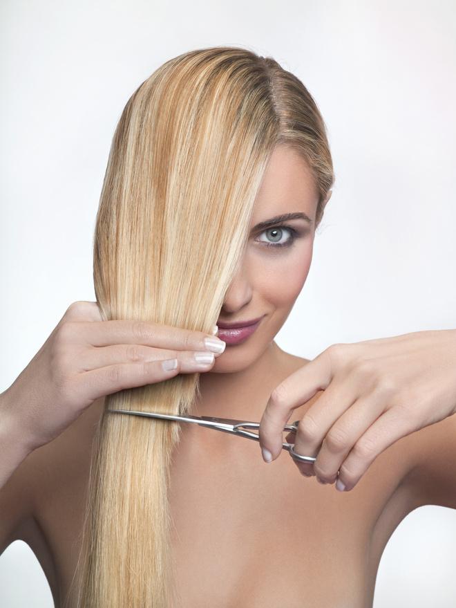 как подровнять волосы
