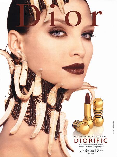 Кристина Семеновская для Dior