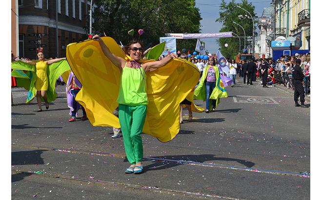 карнавал в Иркутске