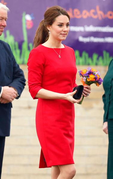 Кейт Миддлтон посетила детский хоспис