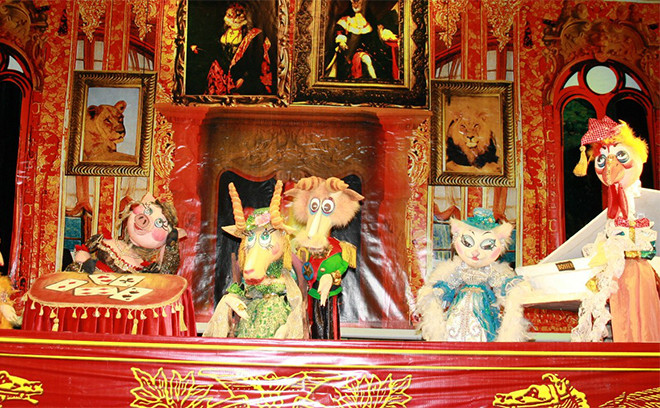 кукольный театр, Ростов, Кошкин дом