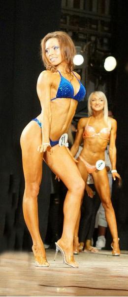 Анна Балакерева, фитнес-бикини модель, г. Красноярск