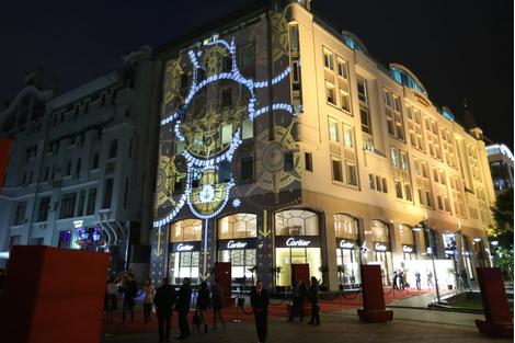 Вечер Дома Cartier в честь визита Станисласа де Керсиса