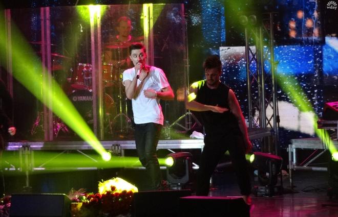 Дима Билан на концерте