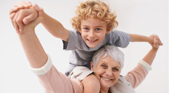 Бабушки разного времени