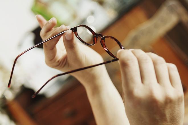 как чистить очки