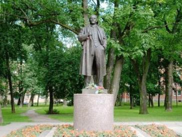 Ленин, памятник, вандализм