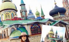 Сати Казанова достроит Храм всех религий