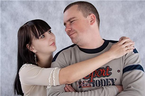 Самая нежная пара. Фото прислано Светланой Козинцевой