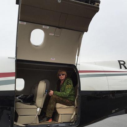Андрей Григорьев-Апполонов едва уместился в авиалайнере