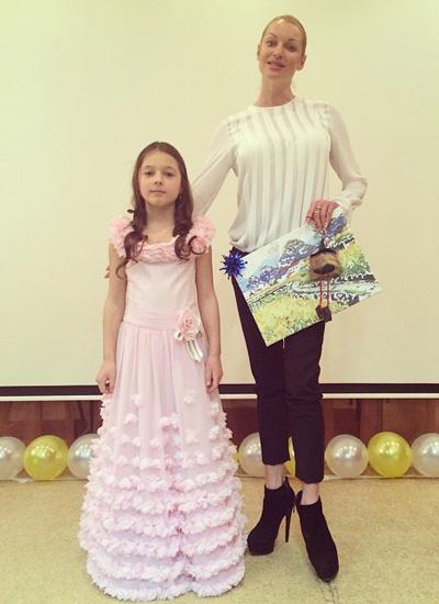Фото дочери Волочковой
