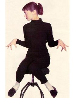 Одри Хепберн носила балетки и в жизни, и в кино