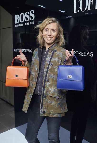 HUGO BOSS представил в России сумку BOSS Bespoke   галерея [1] фото [2]