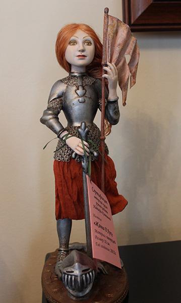 Надежда Каптяева, Выставка «Тайна кукольного шкафа», фото