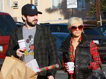 Кристина Агилера (Christina Aguilera) и Джордан Братман (Jordan Bratman)