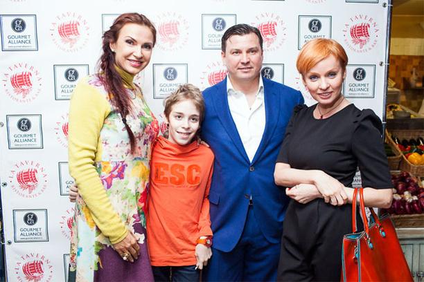 Эвелина Бледанс, Александр Кожин, Жанна Эппле