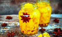 Цветная капуста в сладком маринаде