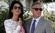 Первый выход молодоженов: Клуни и Аламуддин